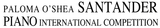 19th Santander Paloma O'Shea International Piano Competition